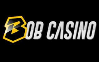 Обзор онлайн casino Bob с хорошей отдачей