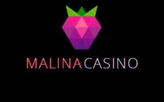 Обзор онлайн casino Malina с хорошей отдачей