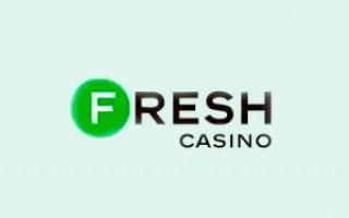 Обзор онлайн casino Fresh с хорошей отдачей