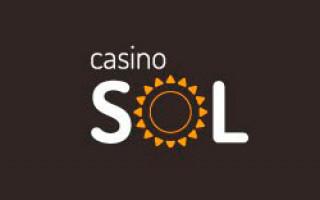 Обзор онлайн casino Sol с хорошей отдачей