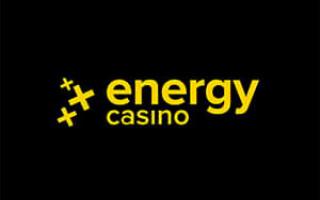 Обзор онлайн casino Energy с хорошей отдачей