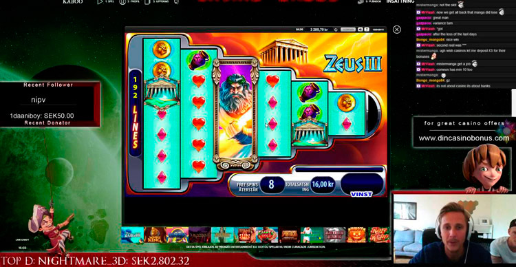 стрим онлайн казино