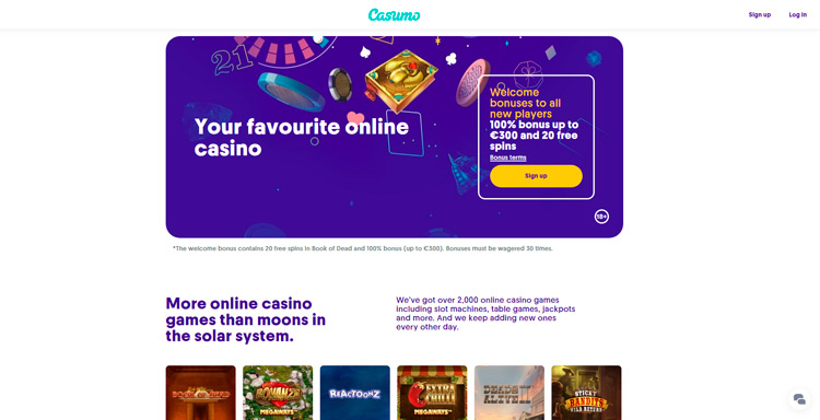 castumo casino